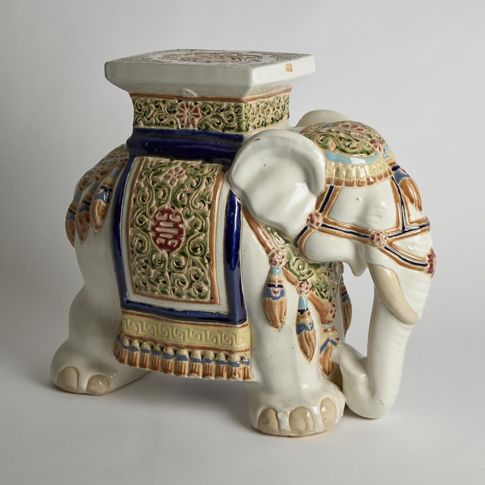 Vintage - SÅLD Elefantpall