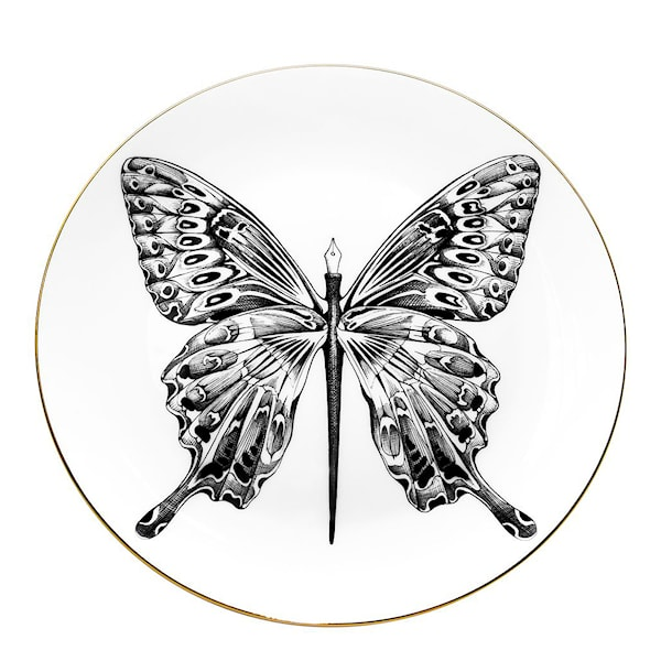 Perfect Plate Butterfly Pen 21 cm