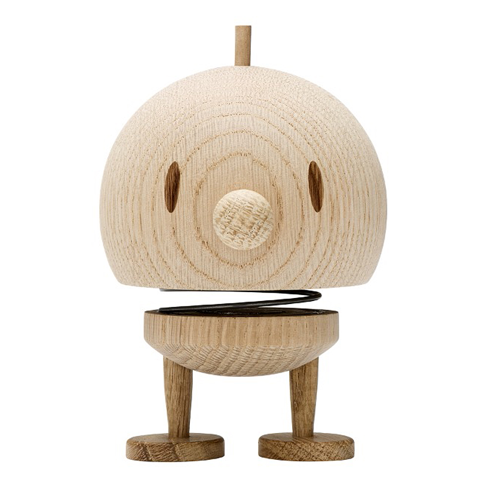 Hoptimist - Junior Bumble Medium 10 cm Rå Ek