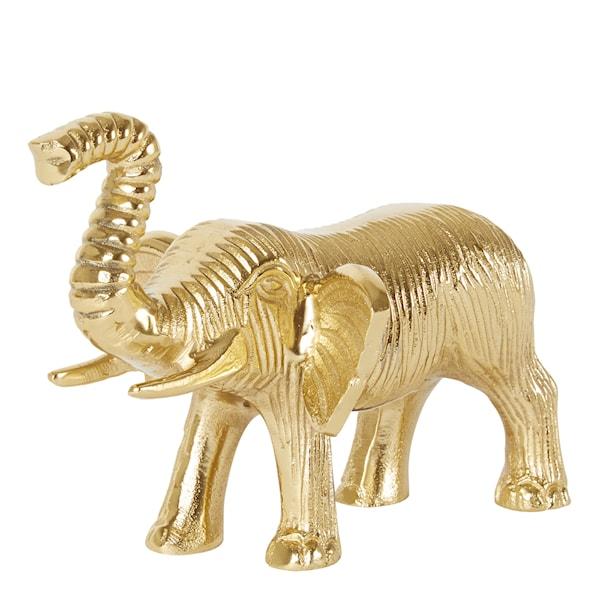 Holmen Elefant i mässing