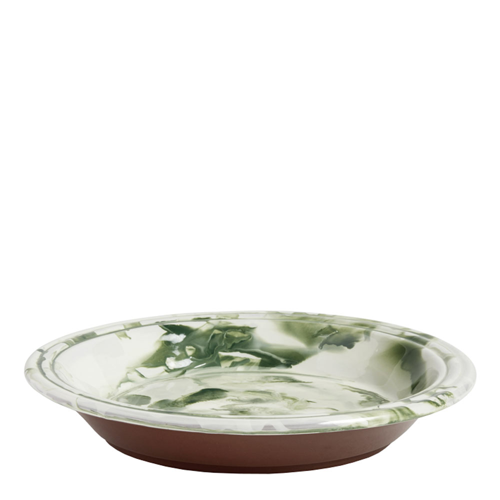 Hay - Swirl Skål 36 cm Grön