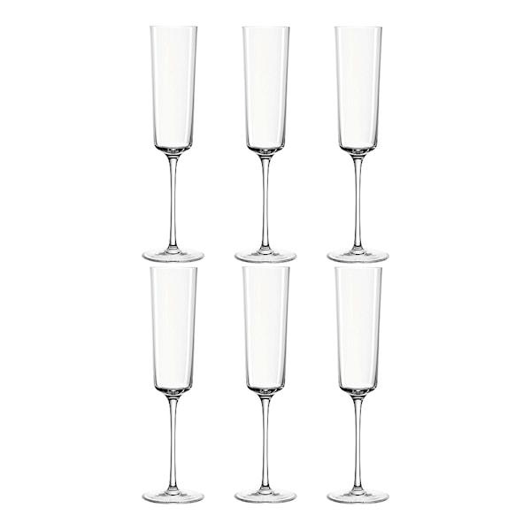 Nono Champagneglas 22 cl 6-pack