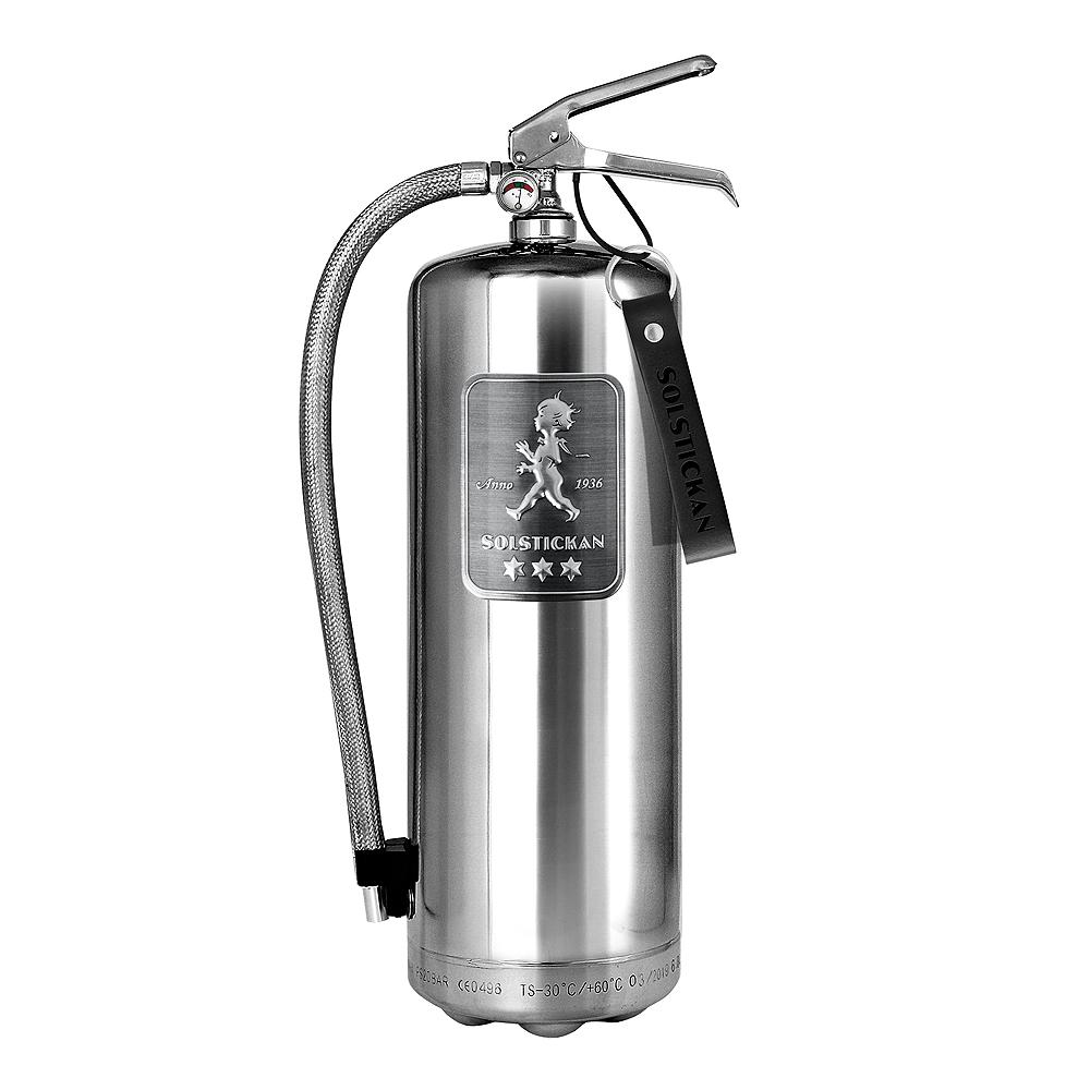 Solstickan - Brandsläckare 6 kg Steel Edition