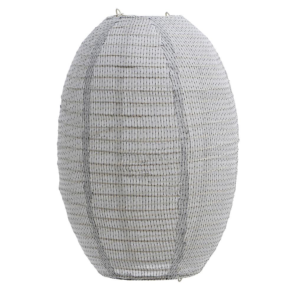 House Doctor - Stitch Lampskärm 50x60 cm Ljusgrå