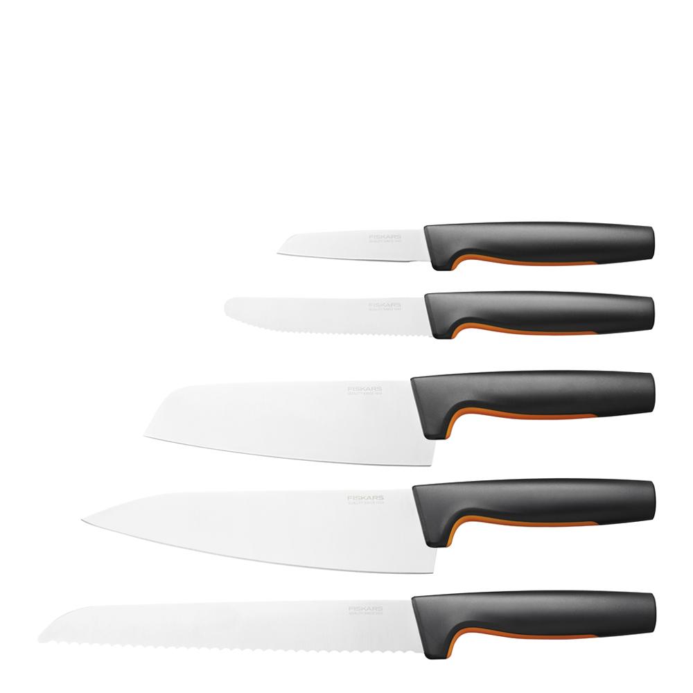 Fiskars - Functional Form Stort Knivset 5 delar