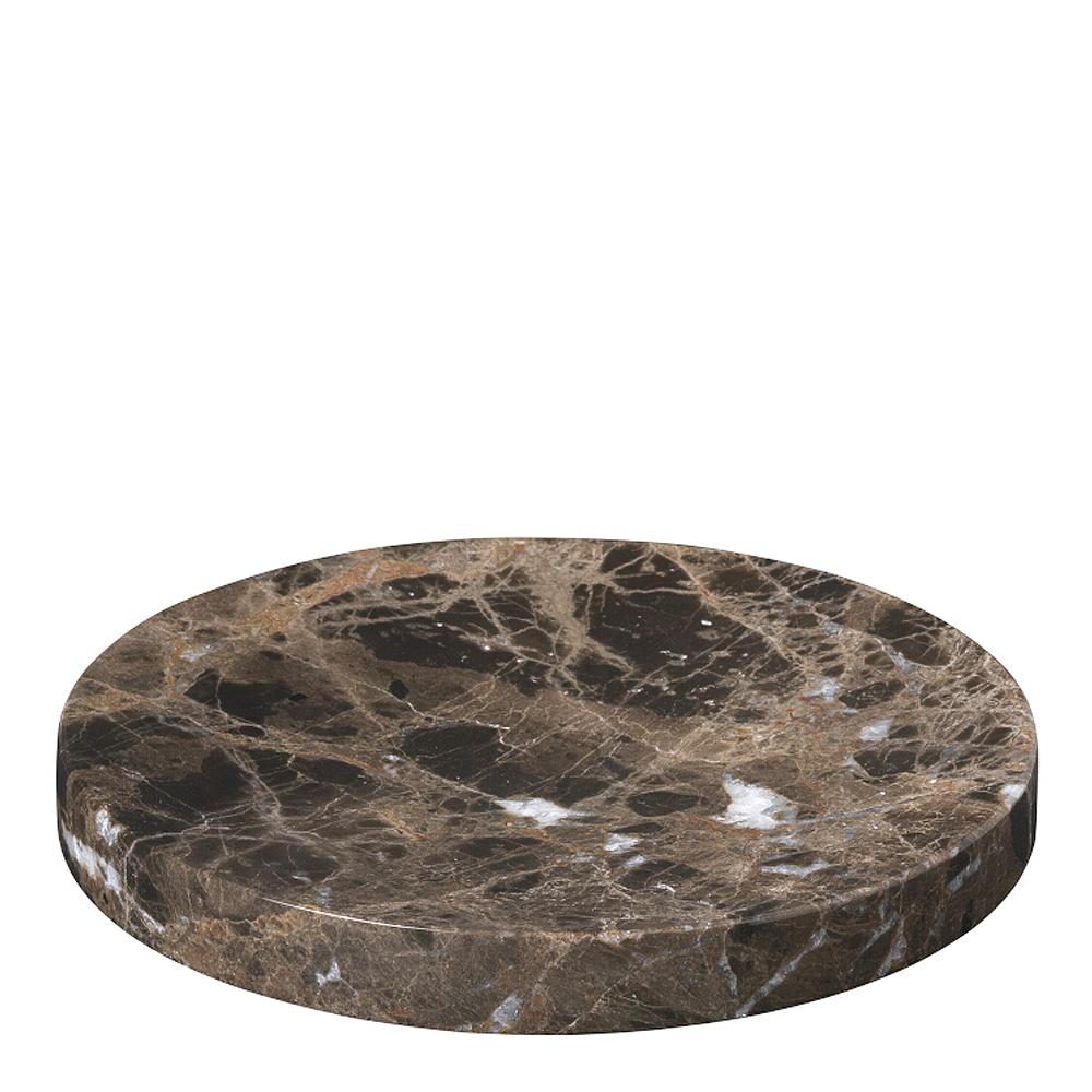 Blomus - Pesa Fat Marmor 19 cm Brun