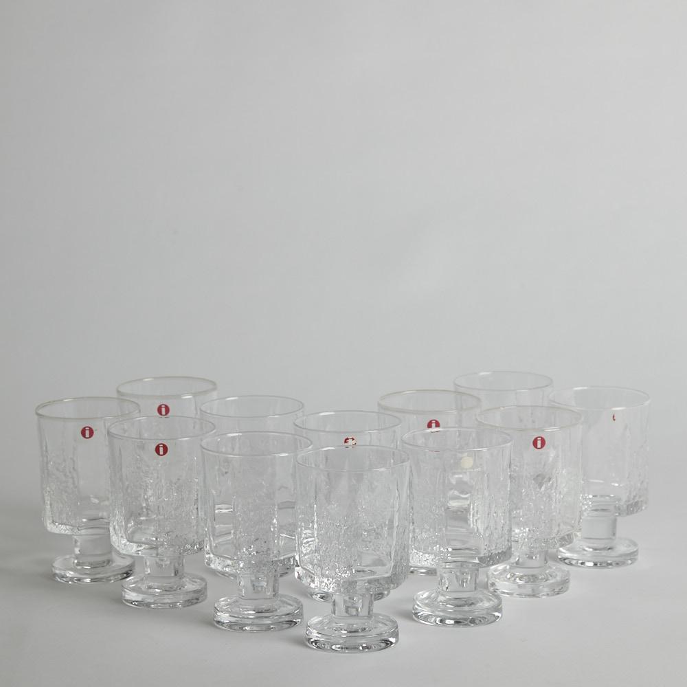 """Iittala - Dessertvinglas """"Kalinka""""  12 st"""