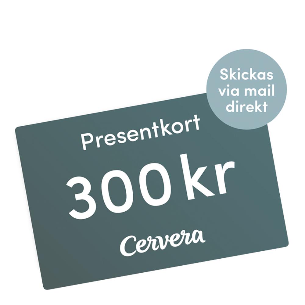 Cervera - Presentkort 300 kr Digitalt