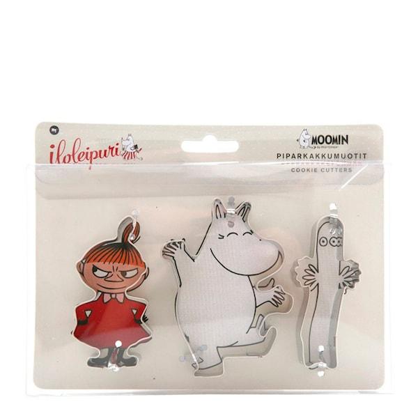 Mumin Pepparkaksform mini Lilla My/Mumin/Hattifnatt 3-pack