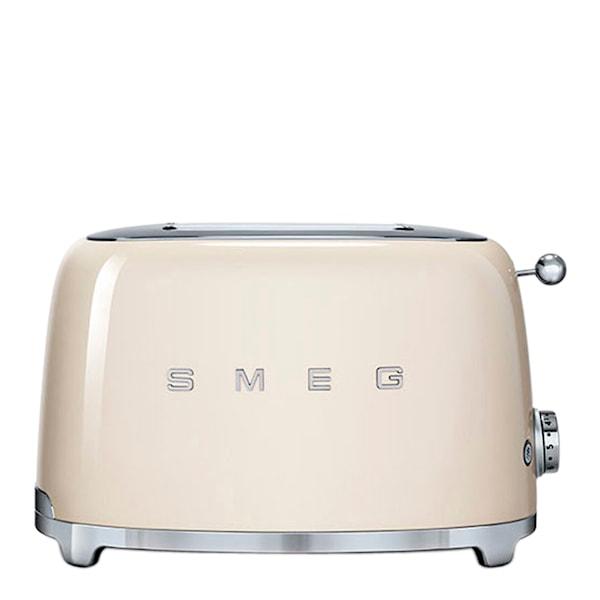 Smeg 50's Style Brödrost 2 skivor Creme