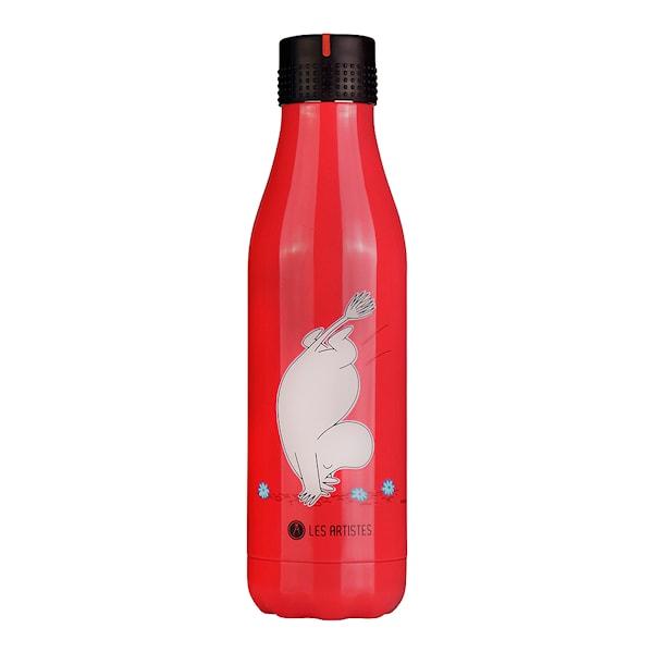 Les Artistes Bottle Up Termosflaska 50 cl Mumin Röd