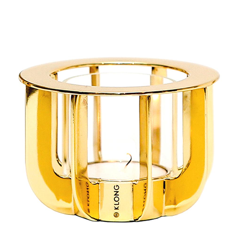 Klong - Jazz Mini Ljushållare Mässing 8,5x6,5 cm