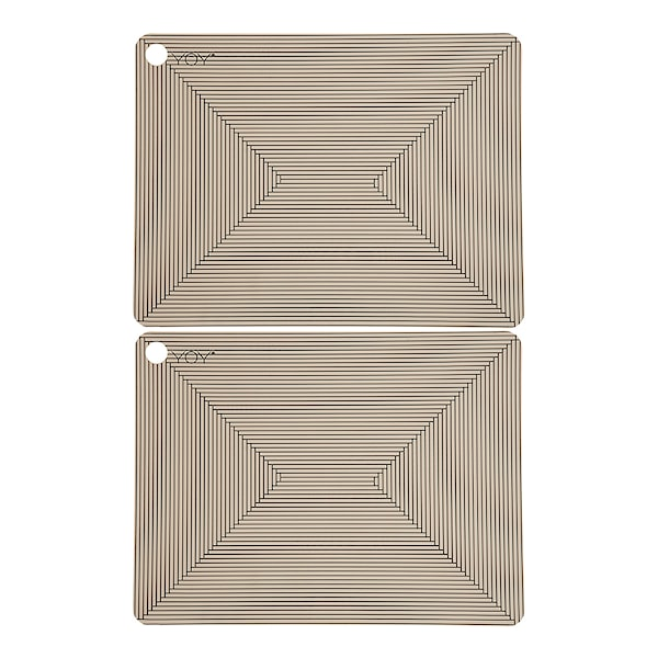 Futo Tablett 34x45 cm 2-pack