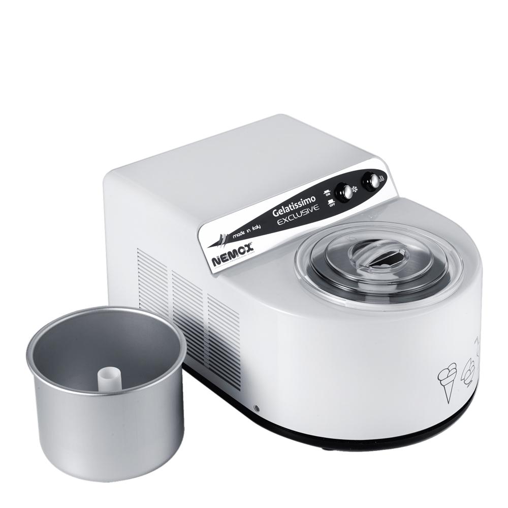 Nemox - Gelatissimo Exclusive Glassmaskin 1,7 L Vit