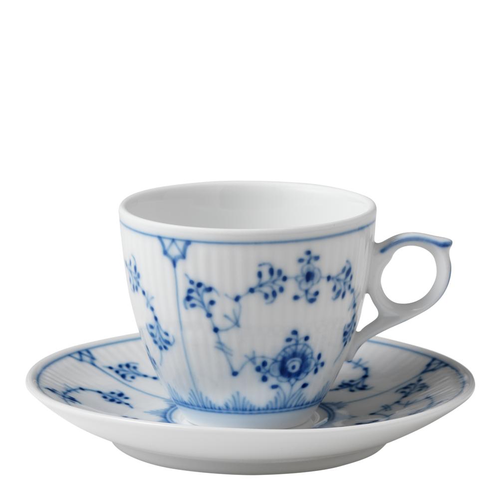 Royal Copenhagen - Blue Fluted Plain Espressogods 10 cl