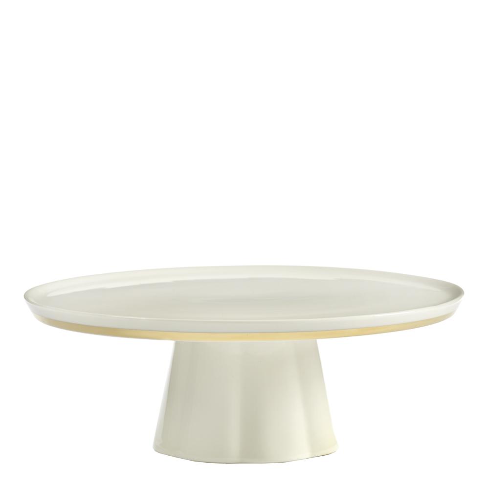 Serax - Desirée Tårtfat 24 cm Vit/Guld