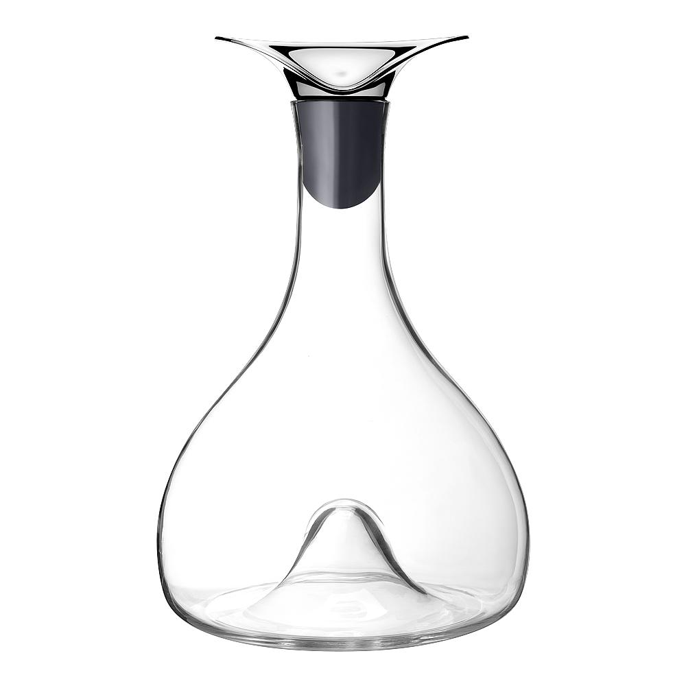 Georg Jensen - Wine Vinkaraff Glas/Rostfri 26,7 cm