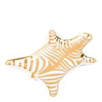 Animalia Fat Zebra 15x10 cm Gull/Hvit