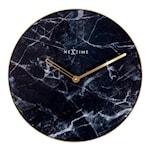 Marble Väggklocka Marmor 40 cm Svart