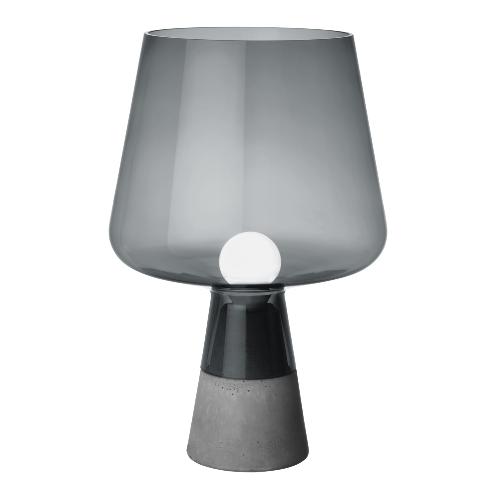 Iittala - Leimu Lampa 38x25 cm Grå