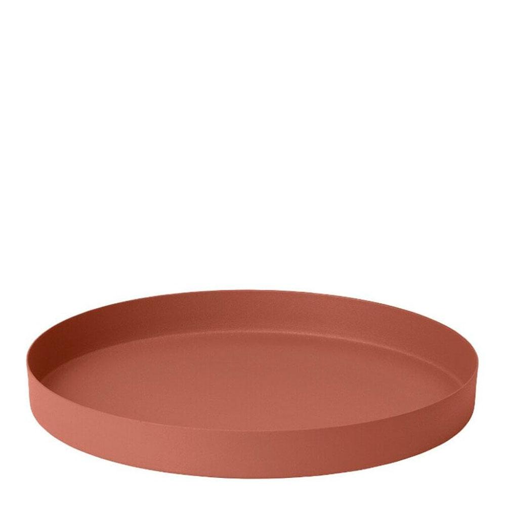Blomus - Blomus Reo Bricka S 25,5 cm Mörkbrun
