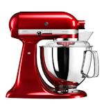 Artisan Kjøkkenmaskin 4,8 L + tilbehør Rødt metallic