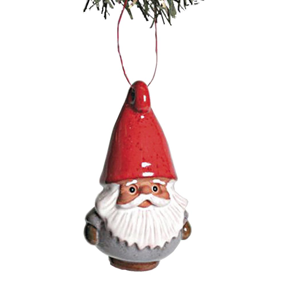 Rolf Berg Keramik - Julpynt Tomte hängande
