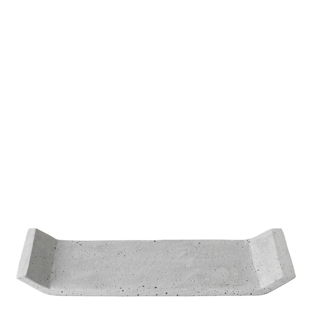 Blomus - Blomus Moon Bricka 30x12 cm Ljusgrå