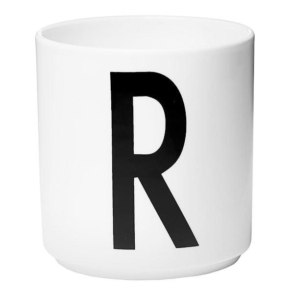 Design Letters Mugg R Vit