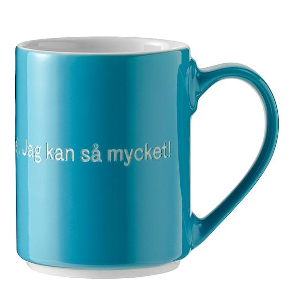 Design House Stockholm Astrid Lindgren Kopp Turkis, Det är konstigt med mig