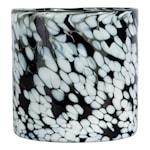 Calore Ljushållare 15x15 cm Svart/Vit