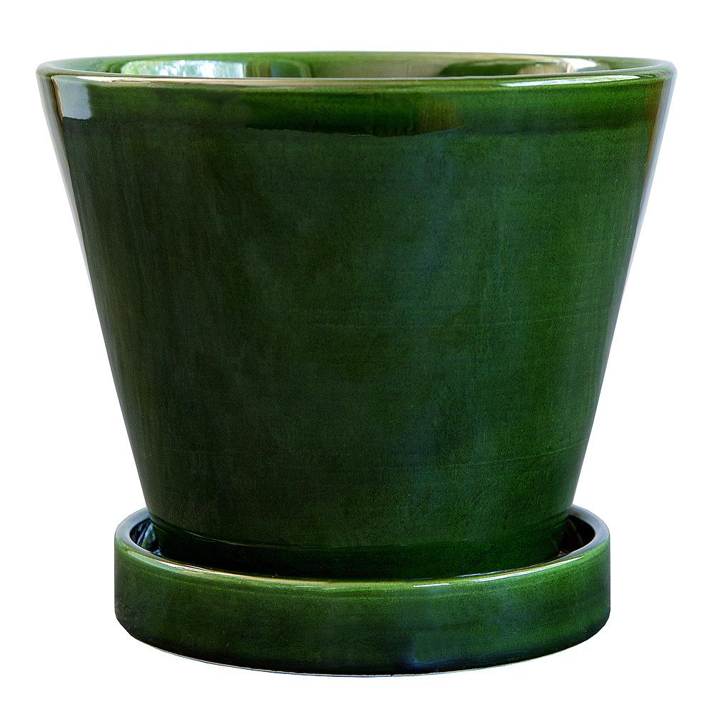 Bergs Potter - Julie Kruka/Fat 13 cm Grön emerald