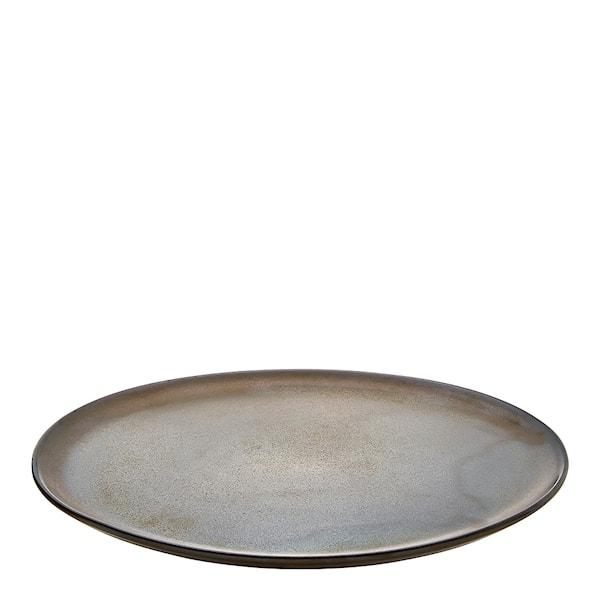 Aida Raw Tallrik 28 cm Metallic Brown