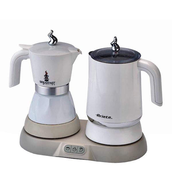 Ariete Ariete Sett Tekoker + Kaffemaskin Hvit