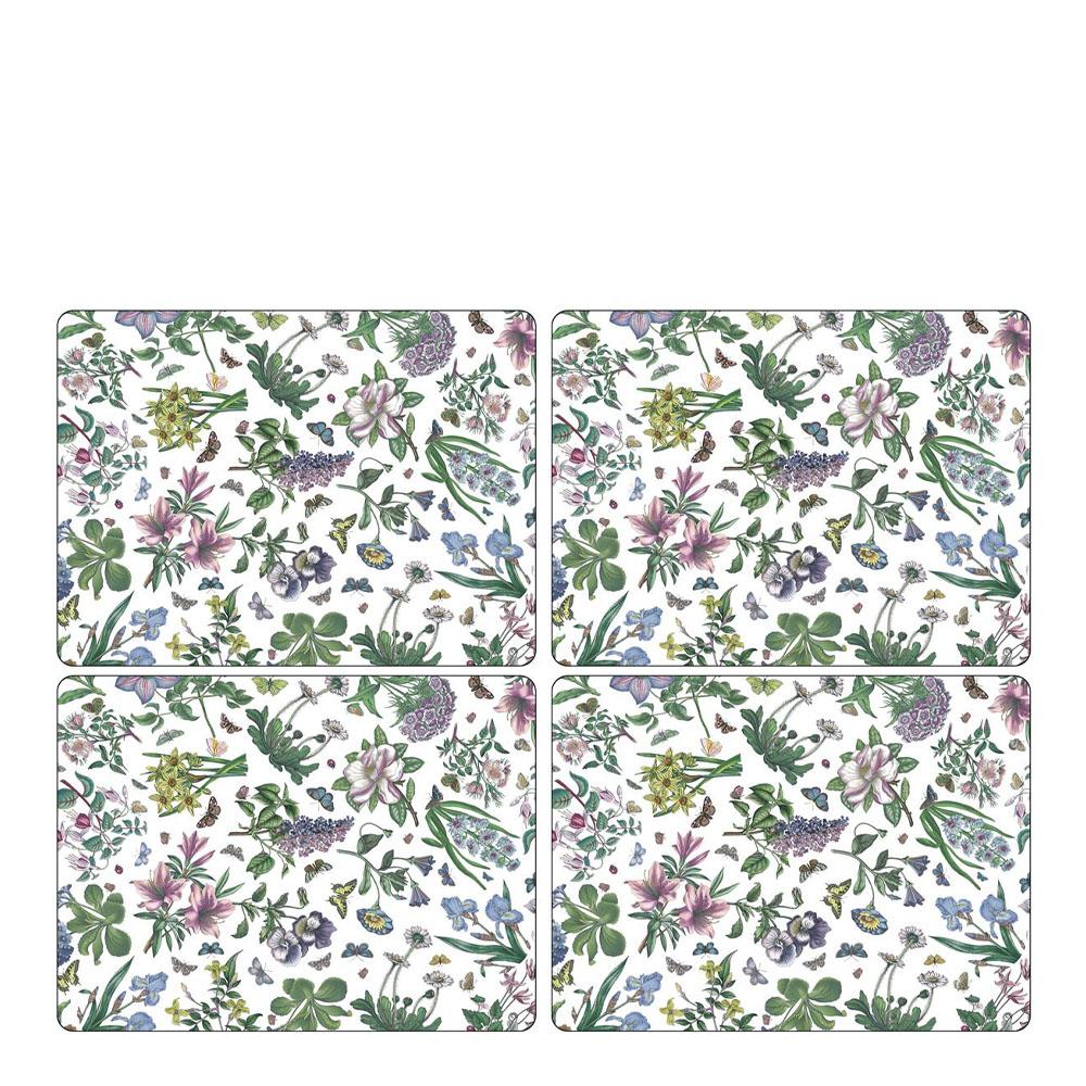 Pimpernel - Botanic Garden Chintz Tablett 30x40 cm 4-pack