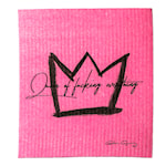 Disktrasa Queen of Fucking Everything 17x20 cm Rosa