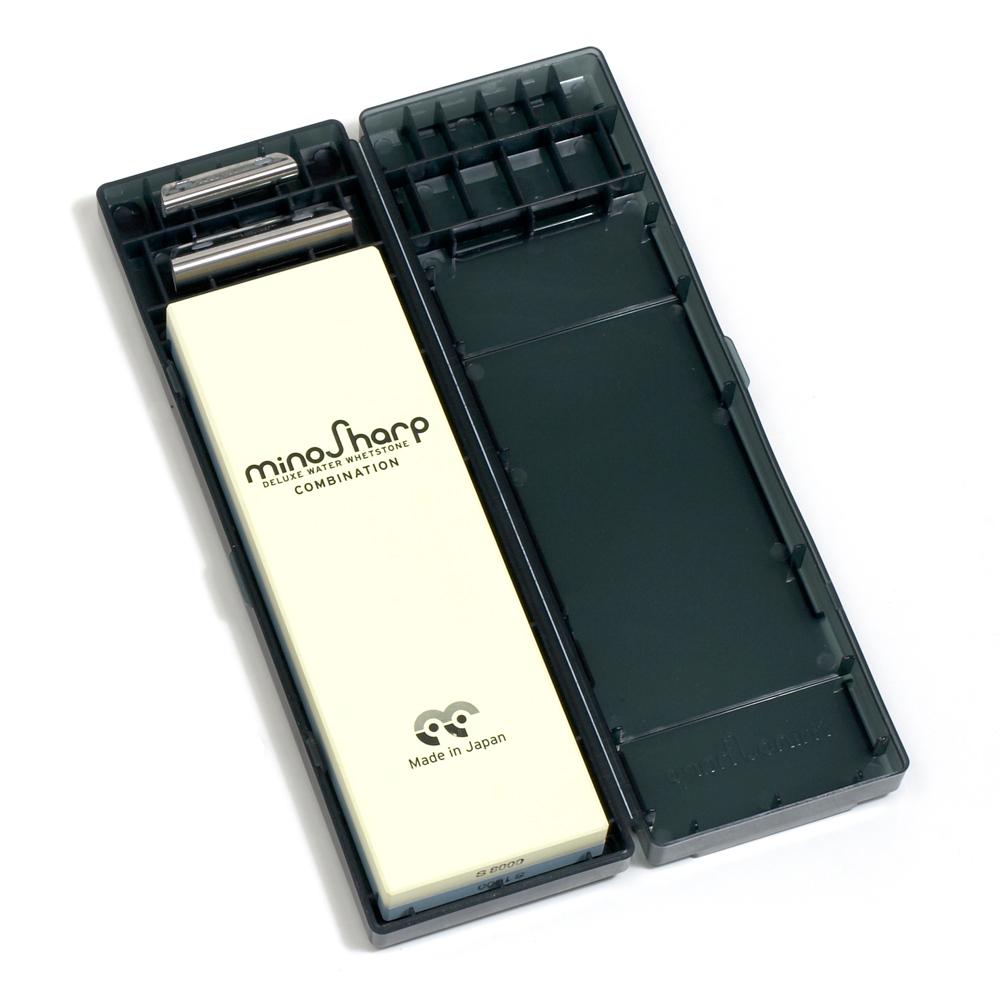MinoSharp - Slipsten kombi inklusive fixtur #1000/8000
