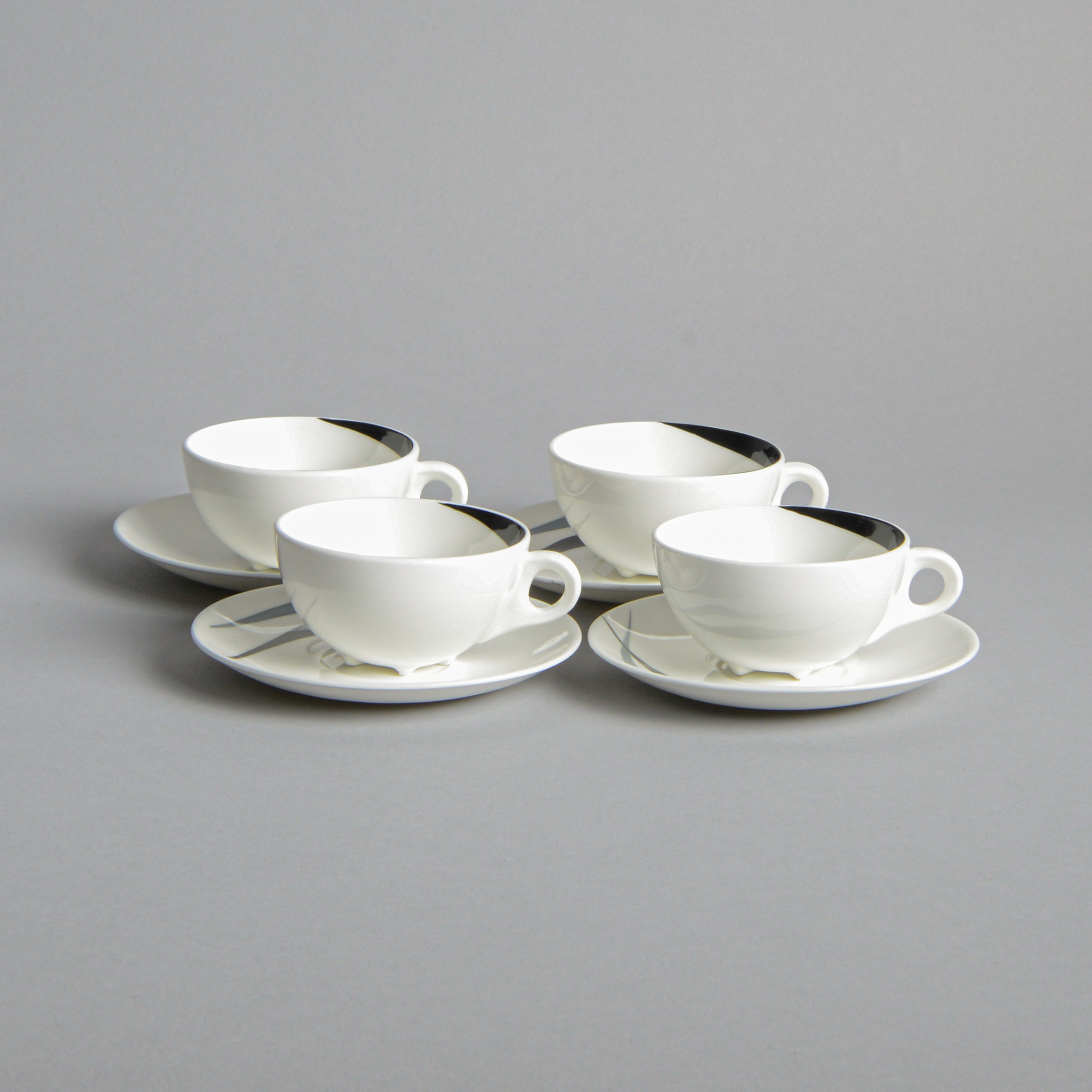 Gustavsberg - Kaffekoppar 4 st troligtvis Stig Lindberg