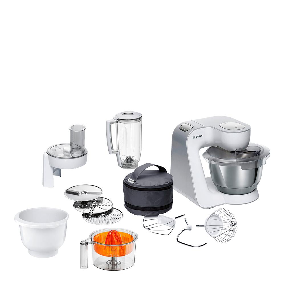 Bosch - CreationLine Köksmaskin Vit/Silver