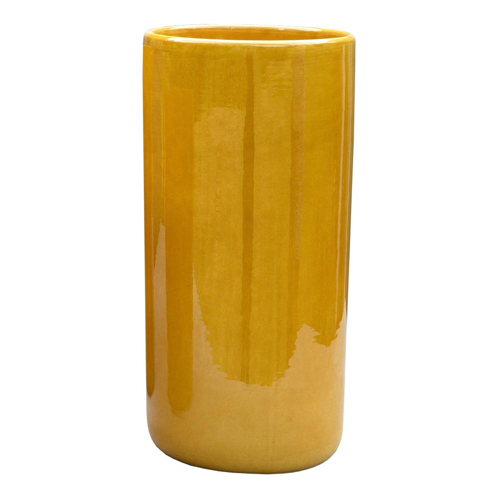 Bergs Potter - Oak Vas 40 cm Gul amber