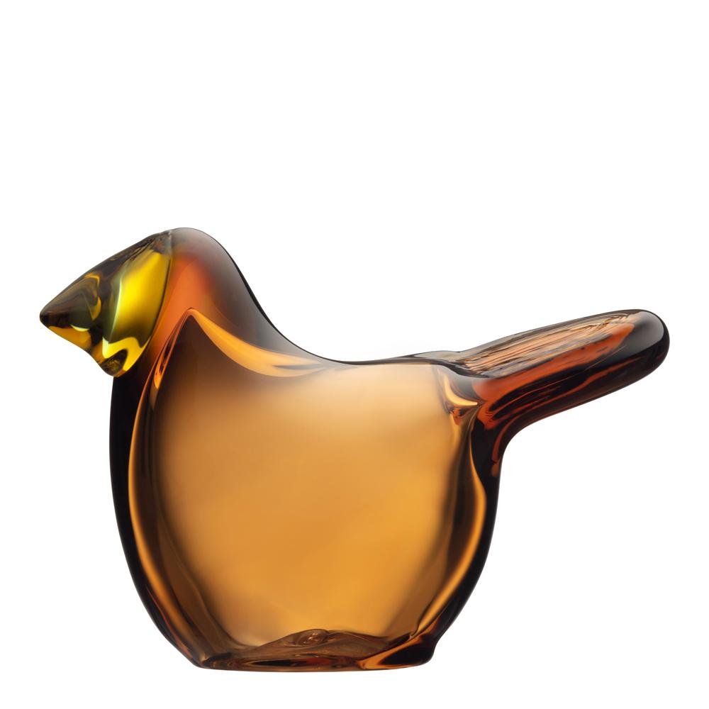 Iittala - Birds by Toikka Flugsnappare Koppar-citron