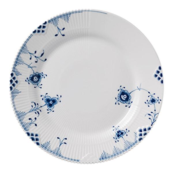 Blue Elements Tallrik flat 19 cm