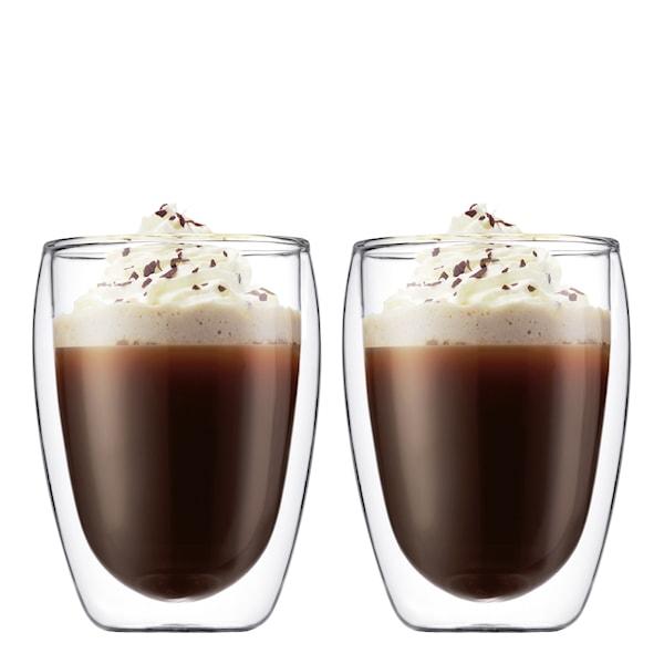 Pavina Kaffeglas dubbelväggad 35 cl 2-pack