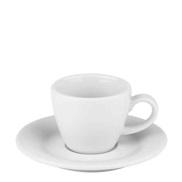 Table Top Stories Blues Espressokopp med fat  Vit