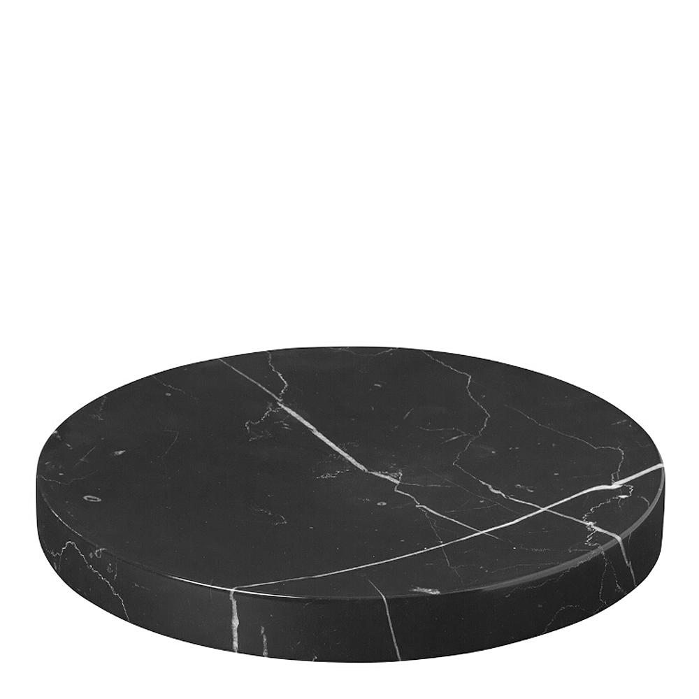 Blomus - Pesa Fat Marmor 19 cm Svart