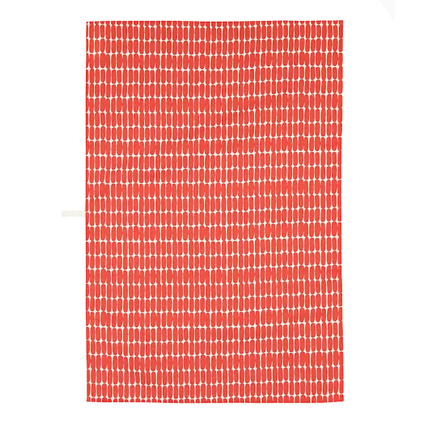 Marimekko Alku Kjøkkenhåndkle Røde Ovaler 47x70 cm