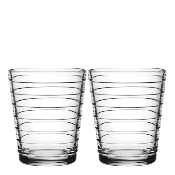Iittala Aino Aalto glass 22 cl 2-pakning Klar