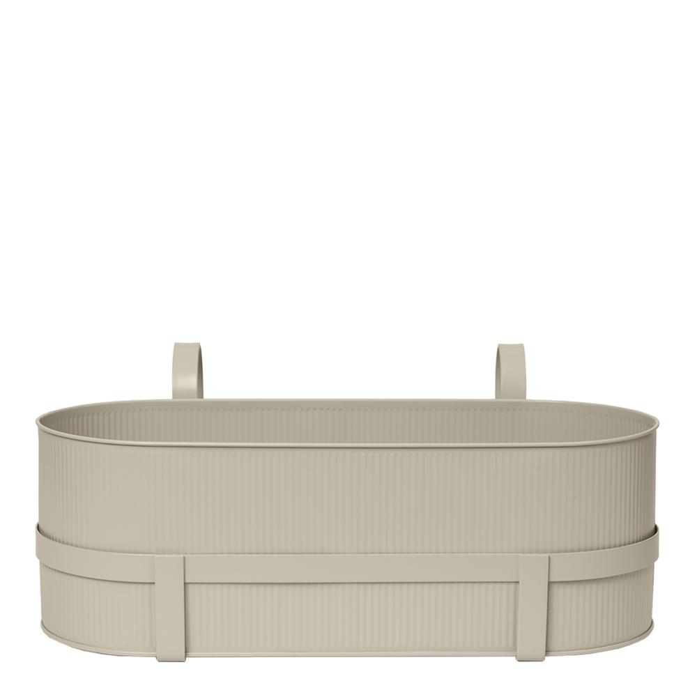 Ferm Living - Bau Balkonglåda 20x45x27,5 cm Cashmere