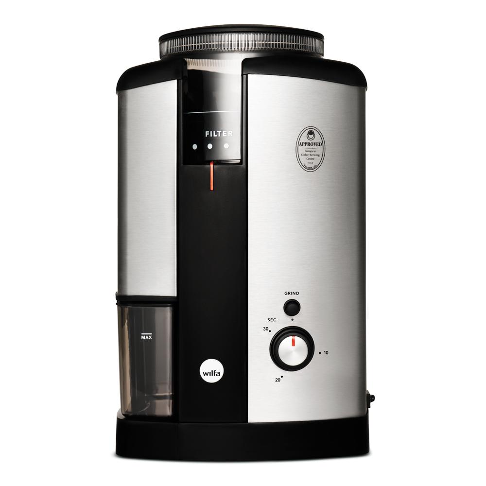 Wilfa - Svart Nymalt Kaffekvarn WSCG-2
