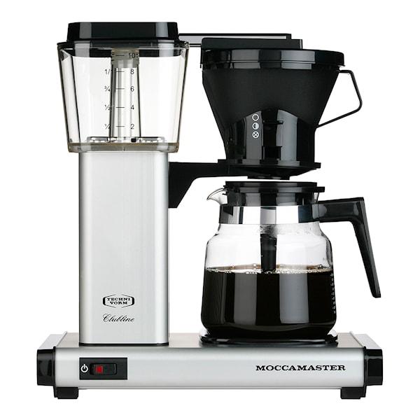 MoccaMaster Kaffebryggare Matt silver HB951AO
